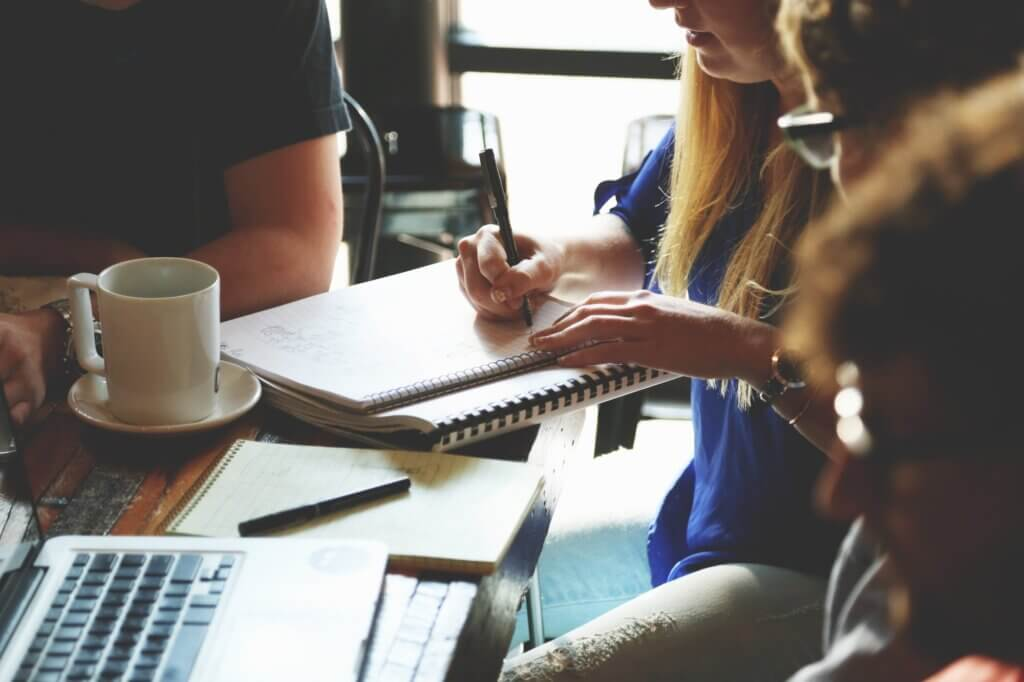 coffee brand development brainstorming